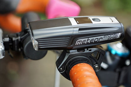 Moon meteor storm pro front light and bar bracket