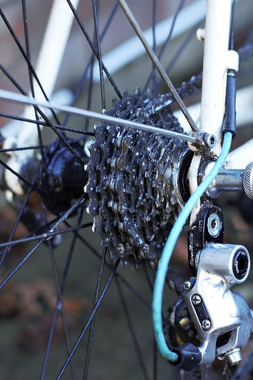 cassette chain bike bicycle