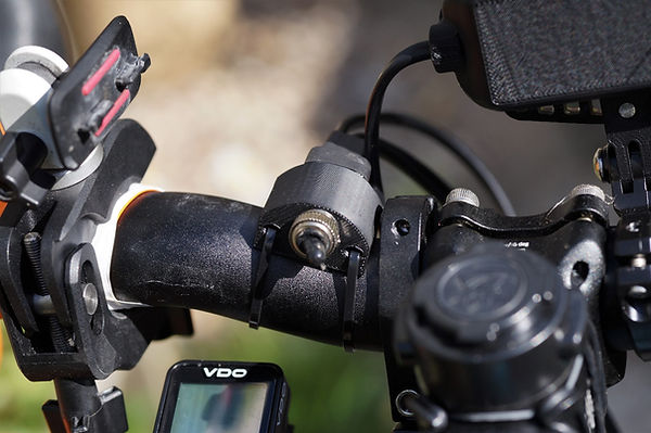 cable bracket mount light bicycle bike cycle