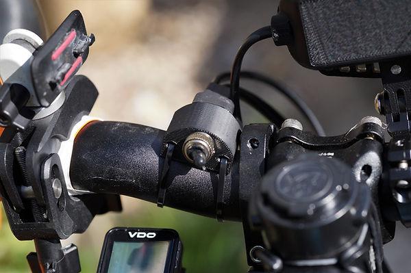 cable bracket mount light bicycle bike cycle