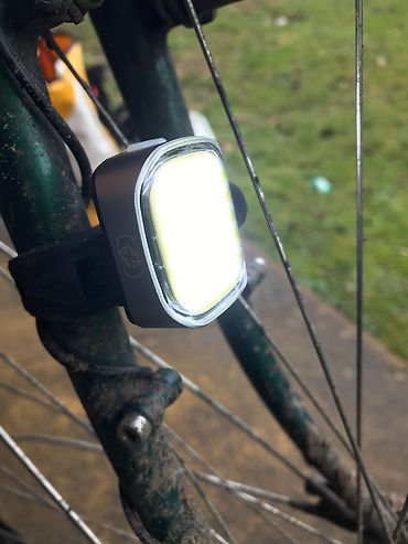 bike bicycle cycle light front cube