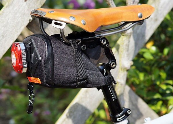 Passport frequent flyer wedge pack bicycle cycle tool saddle