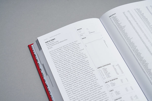 The Road Book - TDF detail