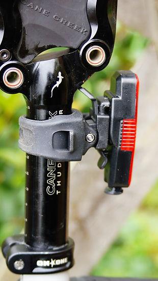 nite rider sabre 35 cycle bicycle rear light seat post bracket review