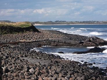 Wave Rock Dunstanburgh Northumberland