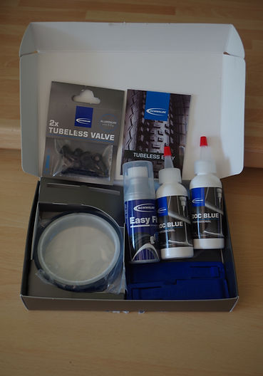 Schwalbe Tubeless Easy kit test review