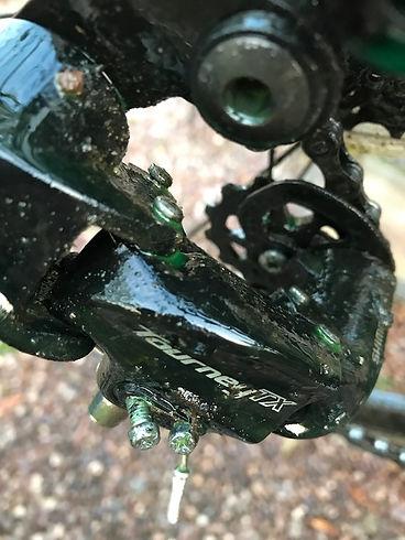 derailleur spray cleaner bike mech rear
