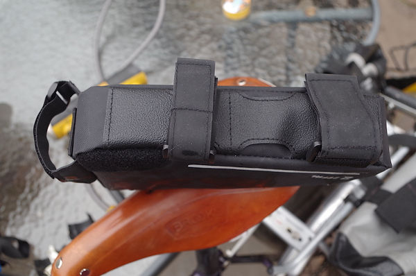 strap bag luggage cycle bicycle top tube