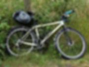 cycle bicycle bike sea pack