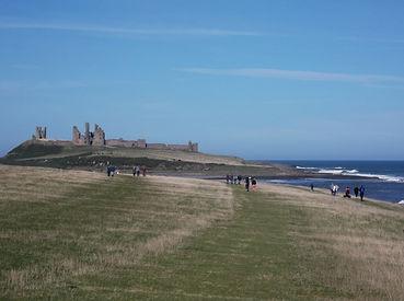 Dunstanburgh Castle Northumberland