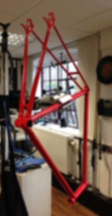 Retro, rebuild, old, racer, road, bike, bicycle, frame