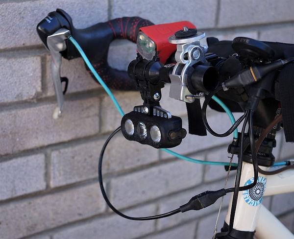 bars bike bicycle light camera go pro