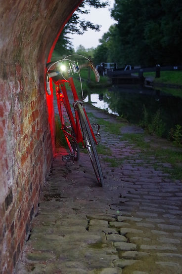 light bicycle bike cycle beam