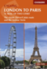 Cicerone cycing London to Paris by Mike Wells review
