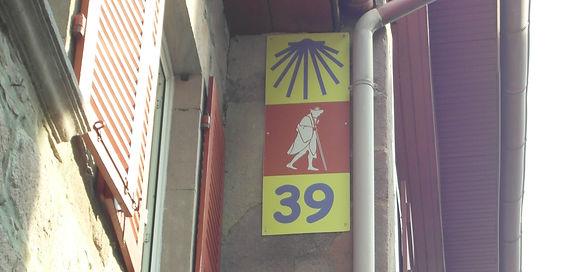 Way of Saint Jams Camino Santiago sign