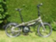 folding folder bicycle cycle bike