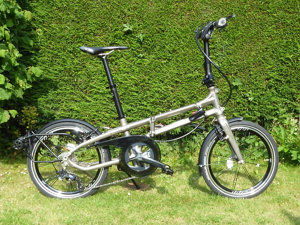 folding folder bicycle cycle bike