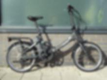 E bike bicycle pedelec folding small wheel commuter