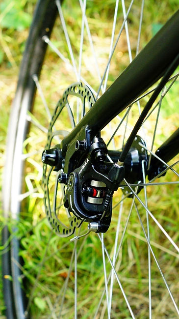 Revolution Cross 2 Tektro Spyre  C mechanical disc brakes