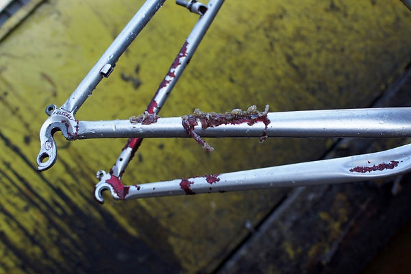 paint job bike removal