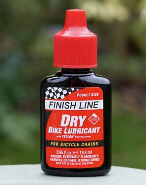Finish line Dry bike Lube Lubricanr tes review