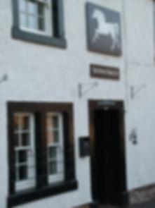 White horse, pub, King's Meaburn, Cumbria
