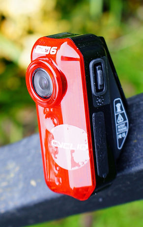 Cycliq Fly 6 rear bicycle light and camera