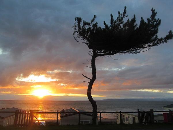 Coastal sunset, Ayrshire