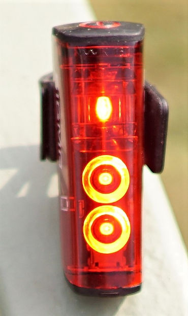 red rear light bike cycle cycling