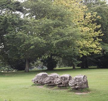 heads Wallington Hall Northumberland