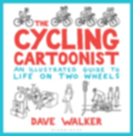 The Cycling Cartoonist book Dave Walker