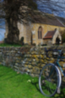 Bicycle Church Priors Hardwick Northamptonshire
