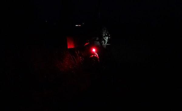red rear bike rad velo light