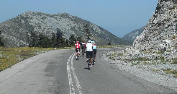 Greek cyling holidays riding mountans bike cyclin