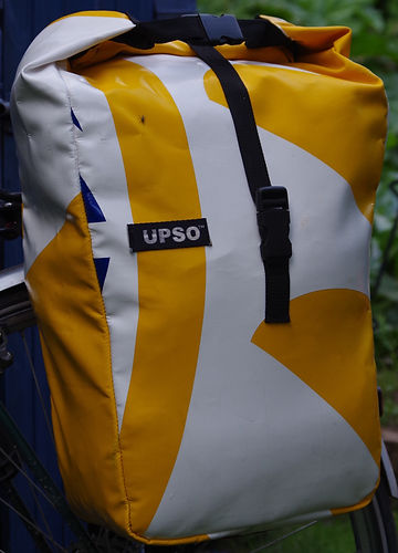 UPSO POTTERS PANNIER CARRADICE CYCLING BAGS