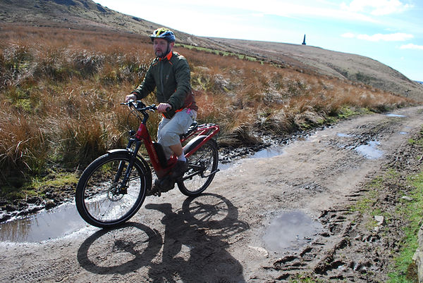 Riese & Muller Homage Nuvinci GT test rev iew trail pennines