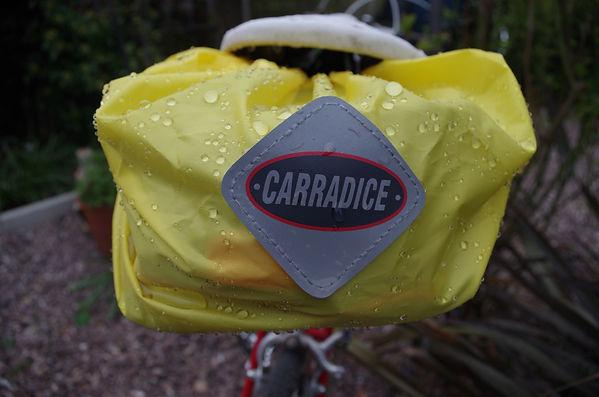 Carradice Carradura cycling bicycle saddle bag pack