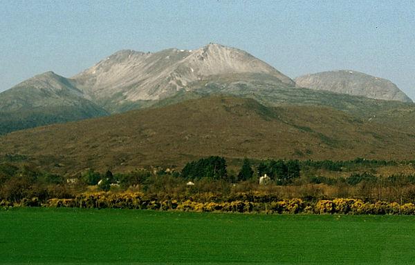 mountain scotland highland
