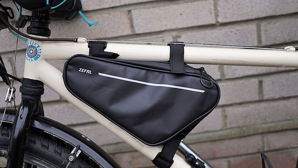 cycling bikepacking frame bag zefal