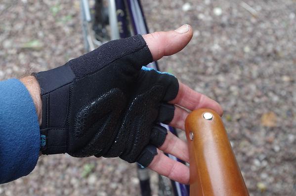 cycle cyclin mitt glove gear bike hand wear