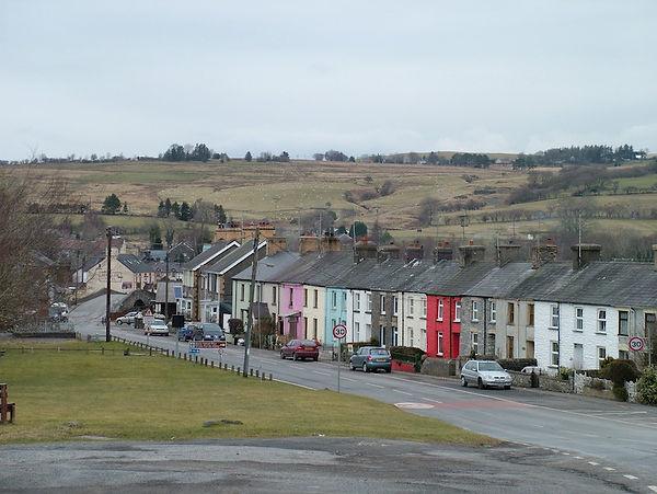 Pontrhydfendigaid houses colour