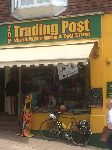 Trading Post, bike shop, Kingsbridge, South Hams, Devon