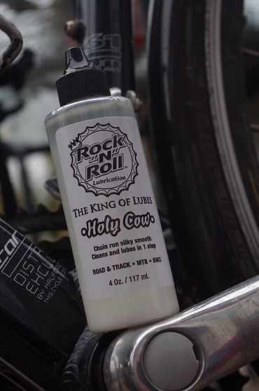 bottle chain lube rock n roll holy cow bicycle bike chain