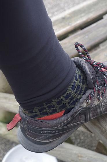 legs cycling socks longs bib tights hem