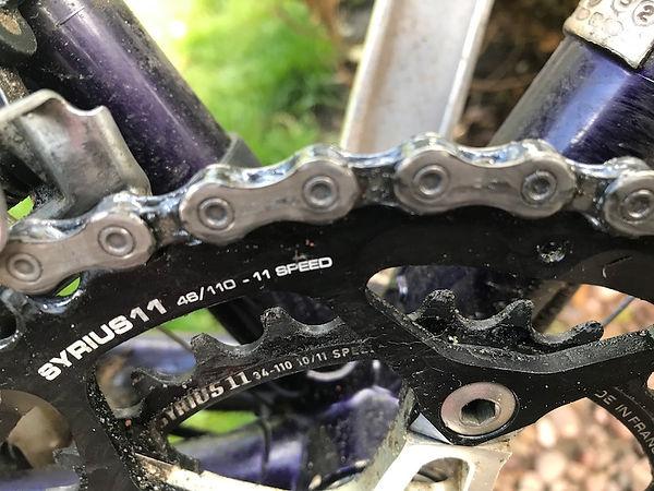 chain wax lube bicycle bike cycle