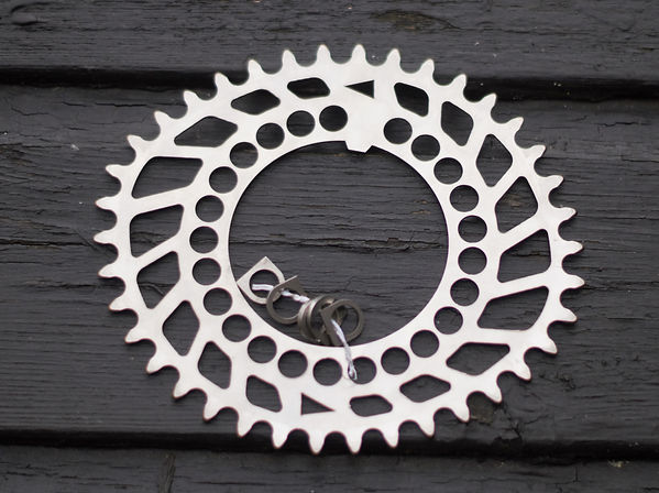 Raval Bicycle cycle bike chain ring gear drive