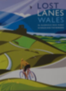 Lost Lanes Wales review cycling touring guide Jack Thurston