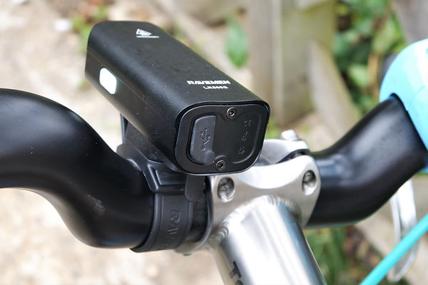 light front bicyle cycle bike port rechargeable usb