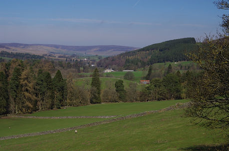 South Tynedale from Alston Cumbria