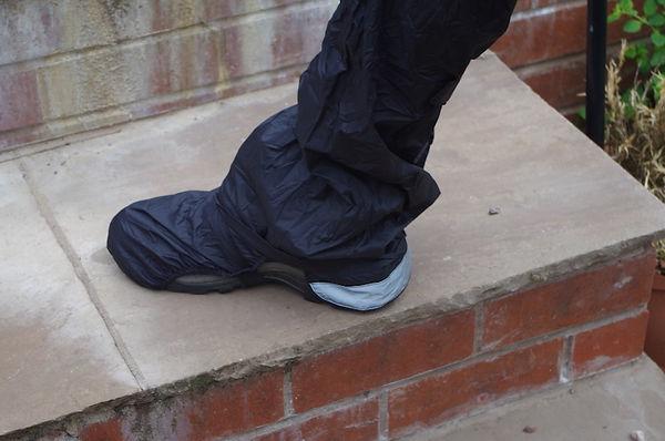 over trouser shoe cover cycling bike waterproof